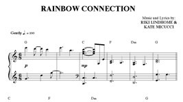Rainbow Connection Sheet Music