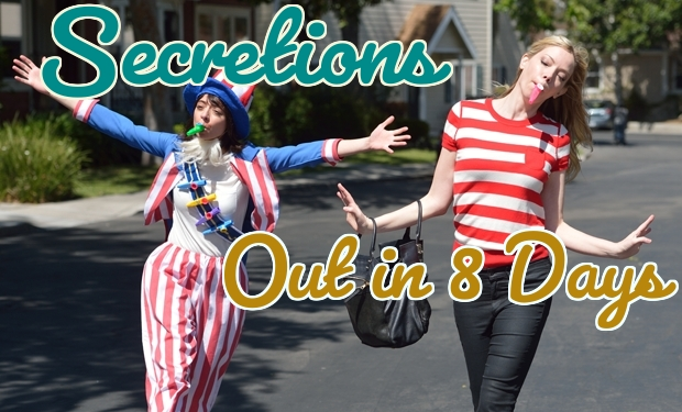 Secretions Countdown: Out in 8 Days!
