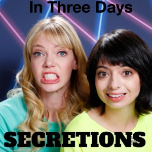 3 days until Secretions drops. Get ahead of the curve by pre-ordering on iTunes: https://itunes.apple.com/us/album/secretions/id1035489881