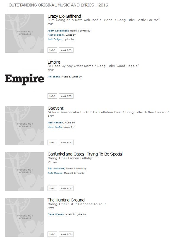 Lyric frozen songs lyrics : Frozen Lullaby was Nominated for an Emmy! Â« Garfunkel and Oates